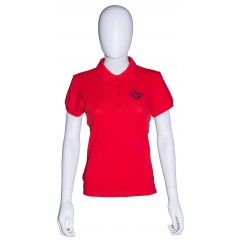Polo CAVY rouge femme