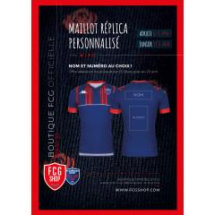 Maillot JR Réplica personnalisé FCG 20-21