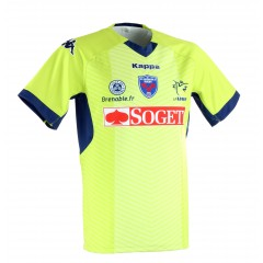 Maillot Enfant Europe chartreuse 2014-2015