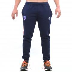 Pantalon survêtement EVOKA bleu/rouge