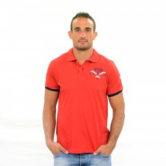 Polo CALBER rouge
