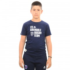 T-shirt GINOLA bleu junior