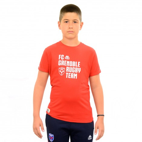 T-shirt GINOLA rouge junior