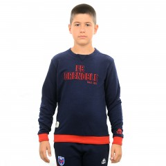 Sweat GRANA bleu junior