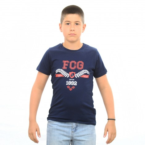 T-shirt GOTAN bleu junior