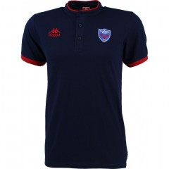Polo BELLINA Junior piqué marine