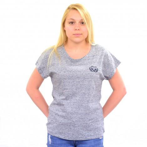 T-shirt GRAMMIE gris chiné